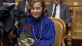 Video «Zeitreise: Elisabeth Kopp (12/31)» abspielen