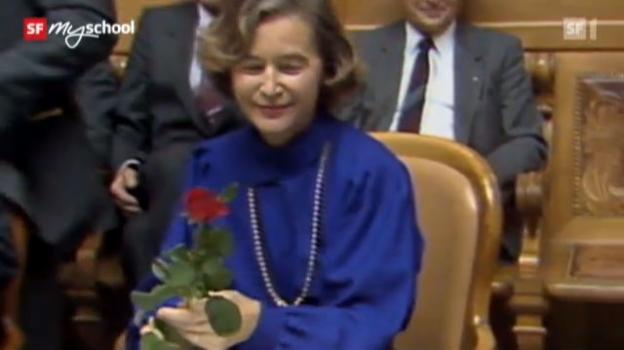 Video ««Zeitreise: Elisabeth Kopp» - Folge 15» abspielen