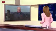 Video «Einschätzungen von Journalist Christoph Wanner in Donezk» abspielen