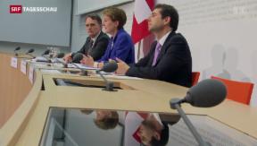 Video «Bundesrat stellt Umsetzung der Masseneinwanderungs-Initiative vor» abspielen