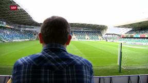 Video «Fussball: Besuch in Belfast vor der WM-Barrage» abspielen