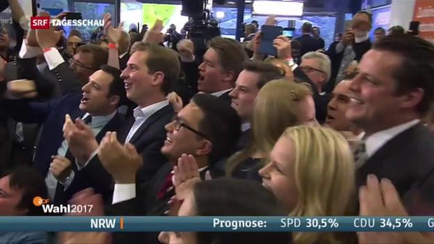 Video «CDU-Sieg und SPD-Schlappe» abspielen