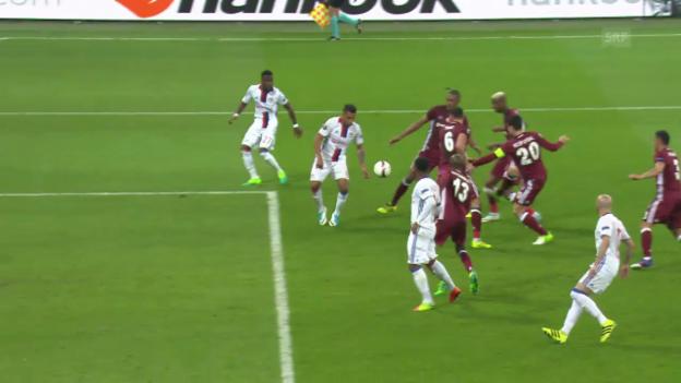 Video «Lyon dreht Partie gegen Besiktas» abspielen