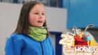 Video «Curling: Aline gefällt dieses seltene Hobby» abspielen