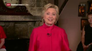 Video «Hillary Clinton – erste Frau als Präsidentschaftskandidatin» abspielen