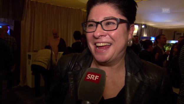 Video «Regula Espinosa über ihr erstes Mal als Solokünstlerin» abspielen