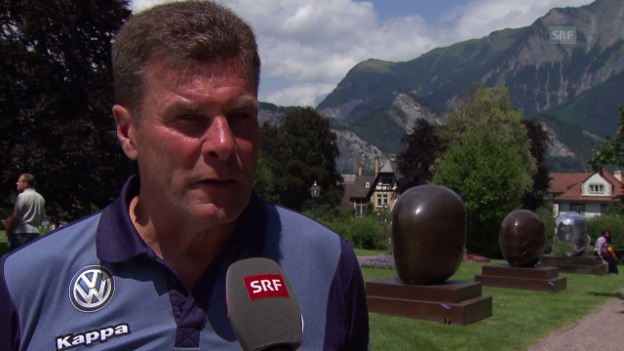 Video «Fussball: Interview mit Dieter Hecking» abspielen