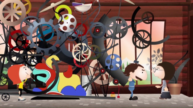 Laschar ir video «Jean Tinguely»