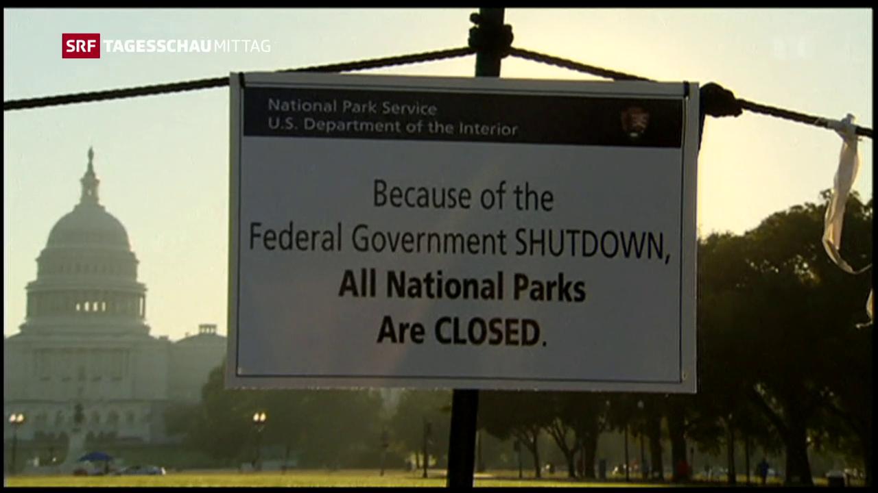 US-Repräsentanten gegen Shutdown