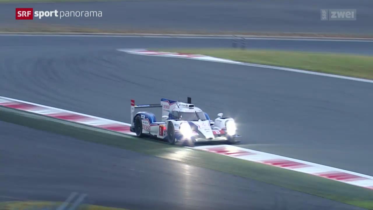 Motorsport: Langstrecken-WM in Fuji