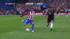 Video «Erneut ist Atletico zu stark für die Münchner» abspielen