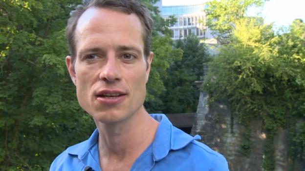 Video «Stefan Kaegi über das Verhältnis von Mensch und Maschine» abspielen