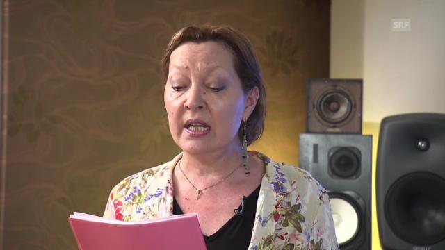 Simone Drexel singt «Stärne»