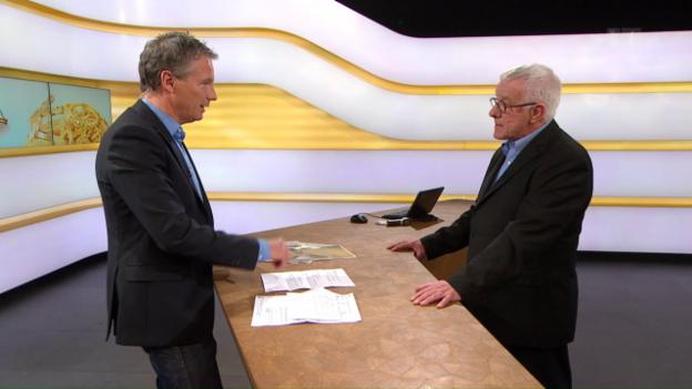 Video «Studiogespräch mit André Hirschi, Verband Schweizer Goldschmiede VSGU» abspielen