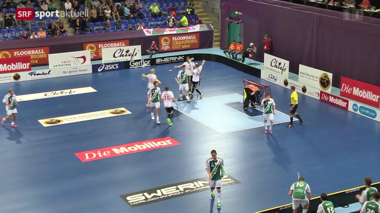 Unihockey: Halbfinals beim Champions Cup