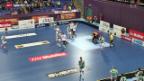 Video «Unihockey: Halbfinals beim Champions Cup» abspielen