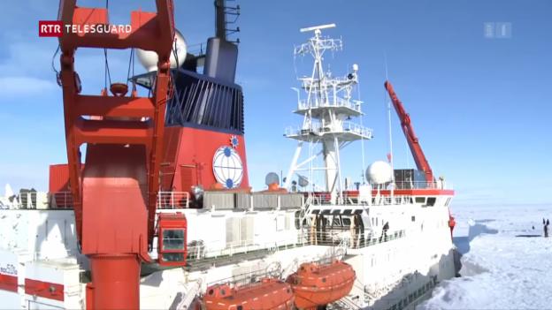 Laschar ir video «Expediziun dal SLF Tavau en l'Arctica»