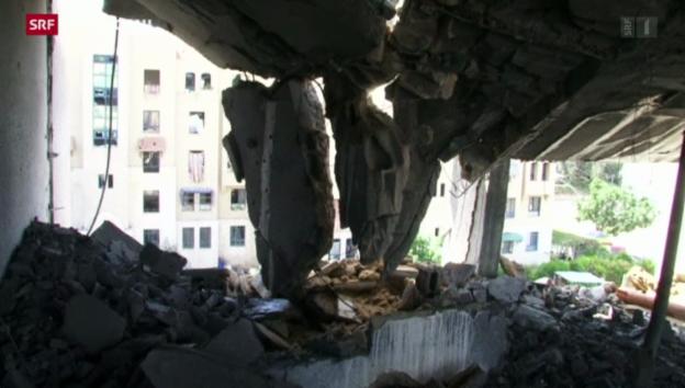 Video «Israel startet Bodenoffensive im Gazastreifen» abspielen