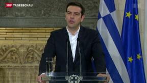Video «Brüssel ist mehr als verstört über die neue griechische Regierung» abspielen
