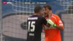 Video «Super League: Zürich - St. Gallen» abspielen