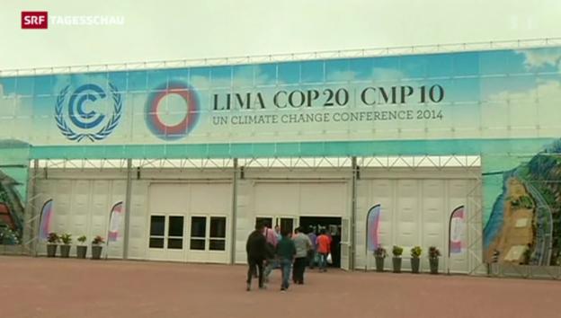 Video «Pattsituation am Klimagipfel in Lima» abspielen