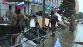 Video «Demonstranten lassen Ultimatum verstreichen » abspielen