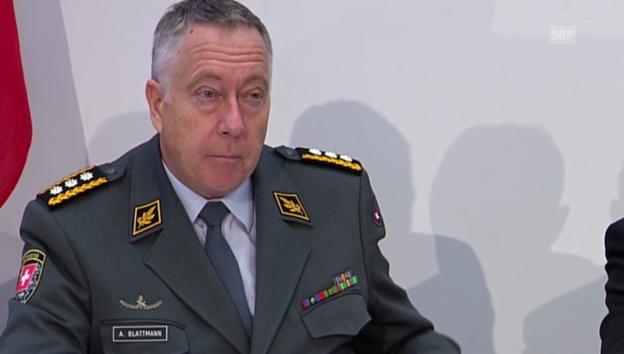 Video «Blattmann: «Hier wird abgebaut»» abspielen