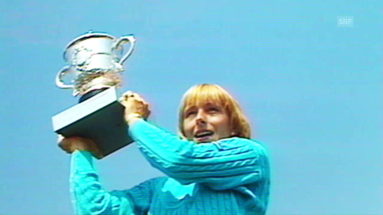 Martina Navratilovas fabelhafte Rekorde