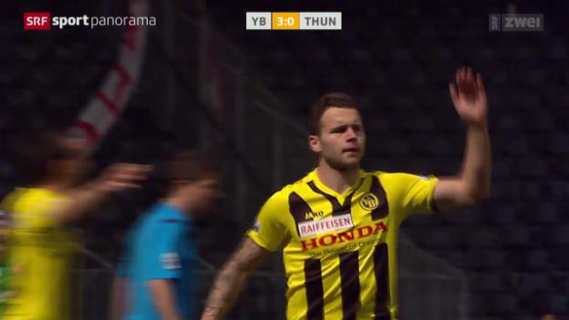 Video «Fussball: YB-Thun» abspielen