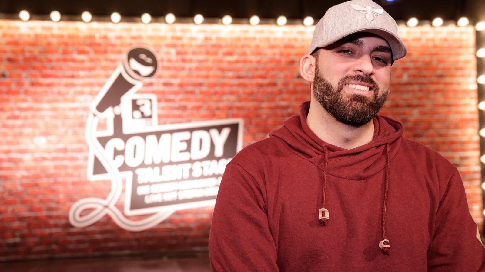 Hamza Raya auf der SRF 3 «Comedy Talent Stage»