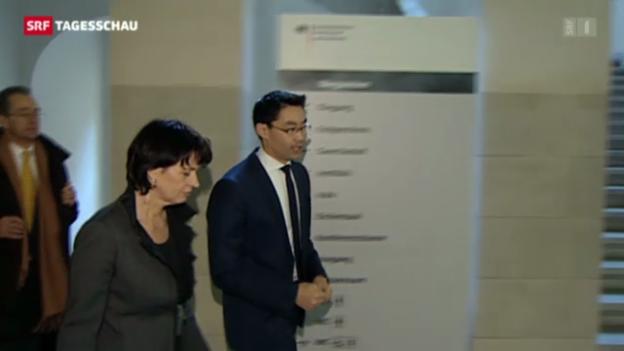 Video «Bundesrätin Leuthard in Berlin» abspielen