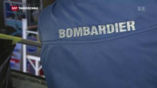 Video «Bombardier streicht Hunderte Arbeitsplätze» abspielen