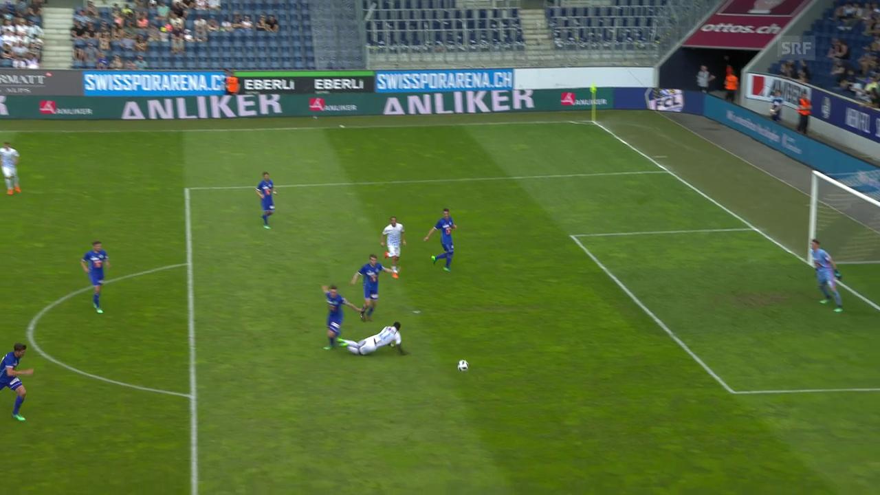 Der Penalty für den FCZ