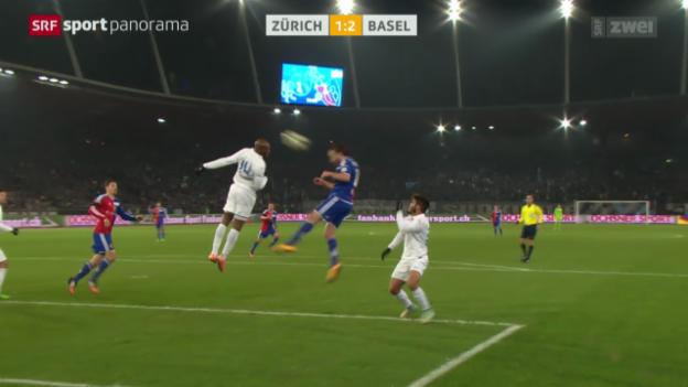 Video «Fussball: FCZ - Basel» abspielen