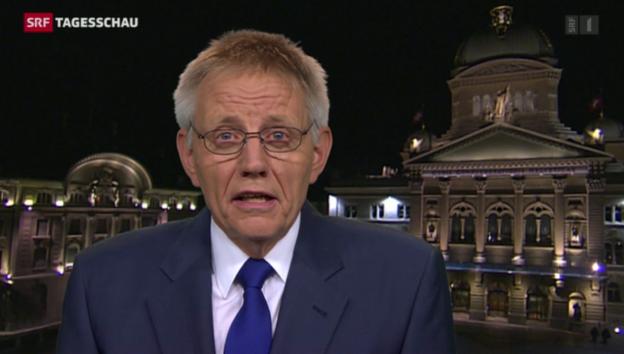 Video «Einschätzungen von Bundeshaus-Korrespondent Hanspeter Trütsch.» abspielen