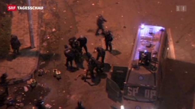 Video «Polizeigewalt in Kairo» abspielen