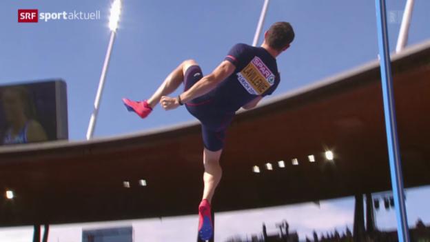 Video «Leichtathletik-EM Zürich: Finals» abspielen