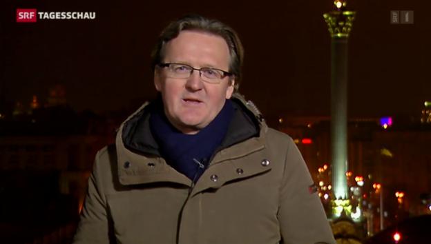 Video «SRF-Korrespondent Christof Franzen aus Kiew» abspielen