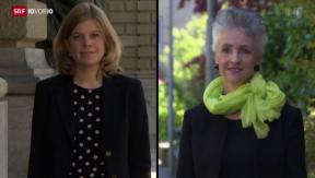 Video «Stagnierender Frauenanteil in Parlamenten» abspielen