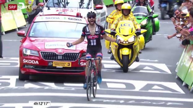 Video «Rad: Tour de France, 17. Etappe» abspielen