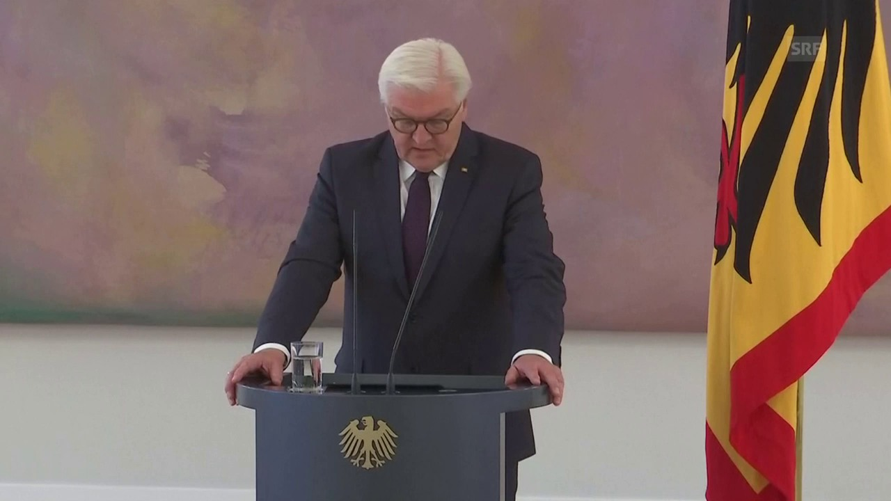 Steinmeiers Appell an die Parteien