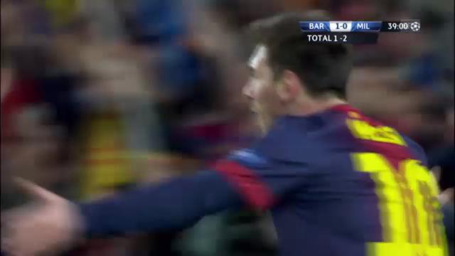 CL: Barcelona - Milan, die Tore («sportlive»)