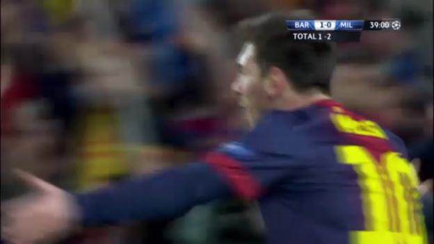 Video «CL: Barcelona - Milan, die Tore («sportlive»)» abspielen