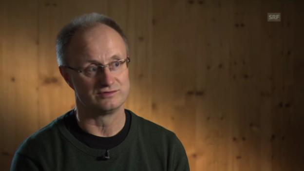 Video «Anders Eldebrink über sein Hobby Fischen» abspielen