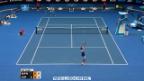 Video «Tennis: Australian Open, Wawrinka - Copil Highlights» abspielen