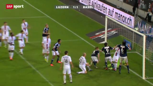 Fussball: Luzern - Basel