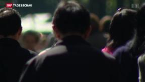 Video «Befürworter der Zuwanderungsinitiative holen auf» abspielen