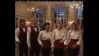 Video «Archivperle: Singendes Servierpersonal in Interlaken» abspielen