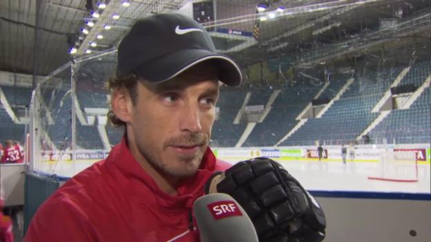 Video «Nati-Assistenztrainer Patrick Fischer über Dänemark» abspielen