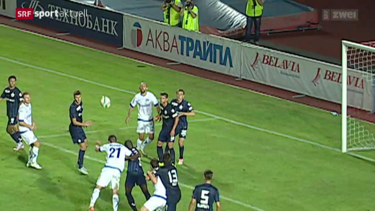 Fussball: EL, Dinamo Minsk-FC Zürich